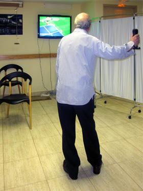 Fisioterapia a través de la Wii